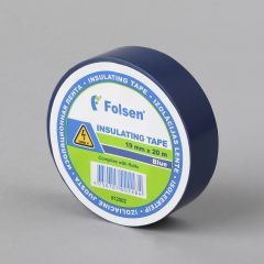 Insulating tape 19mmx20m, 120µm, blue, PVC