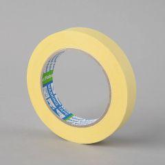 Maalriteip 60°C, 19mmx50m, kollane, paber