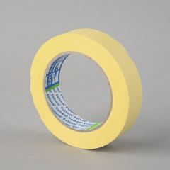 Maalriteip 60°C, 25mmx50m, kollane, paber