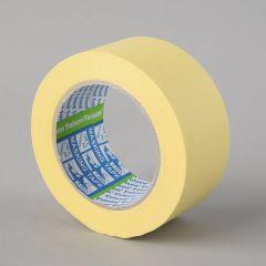 Maalriteip 60°C, 50mmx50m, kollane, paber
