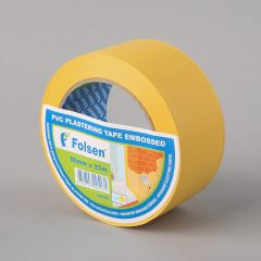 Masking tape 50mm x33m, yellow, PVC
