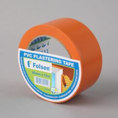 Masking tape 50mm x33m, orange, PVC
