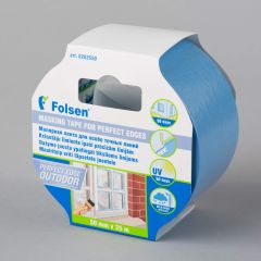 Masking tape, Perfect Edge Outdoor 50mmx25m, blue, ricepaper