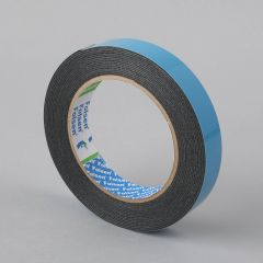 Double-sided PE tape 19mmx5m, black