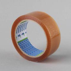 Упаковочная лента Solvent 38ммx66м, 25µm, прозрачная, PP