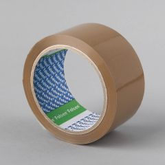 Упаковочная лента Solvent 48ммx66м, 25µm, коричневая, PP