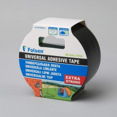 Universal adhesive tape Extra Strong 48mmx10m, 270µm, black, fabric/PE