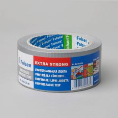 Universal adhesive tape Extra Strong 48mmx25m, 270µm, gray, fabric/PE