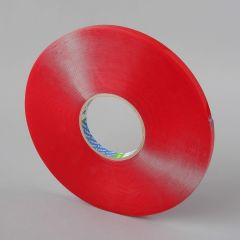 Double-sided Acrylic Foam tape 6mmx16,5m, thicness 1,5mm, transparent
