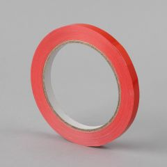 Sulgemisteip 9mmx66m, 34µm, punane, PVC