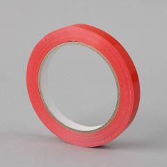 Sulgemisteip 12mmx66m, 34µm, punane, PVC