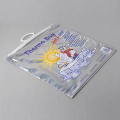 Insulated thermo bag 3,2oz, 440x470mm, 45µm, LDPE/AL, 100pcs/box