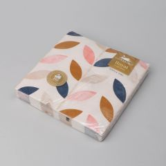 Multicolored 2-ply paper napkin Leafs 400x400mm, 20pcs/pack