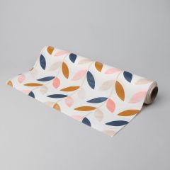 Multicolored 3-ply tear-off napkin Leafs 400mmx12m, 40pcs/roll