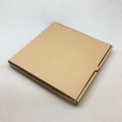 Brown cardboard pizza box 300x300x30mm, 75pcs/pack