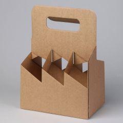 Sangaga kast kartongist 6-le 0.5l pudelile