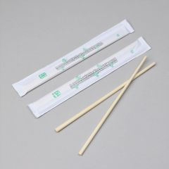 Paper full wrapped bamboo twin sushi sticks 210mm, 100pairs/pack