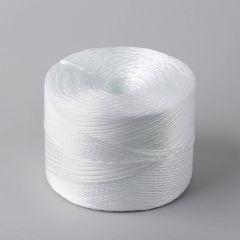 Шпагат, белый PP, в рулоне 1400м, 2кг