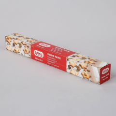 Spino white baking paper roll in box 380mmx8m