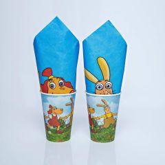 Lotte napkin 330x330mm, paper, 20pcs/pack