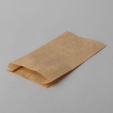 Brown paper cookie bag 120+50x270mm, 250pcs/pack