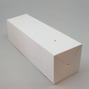 Kinkekarp PopUp 115x115x430mm, paelata valge kartong