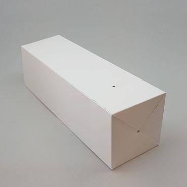 Kinkekarp PopUp 100x100x350mm, paelata valge kartong