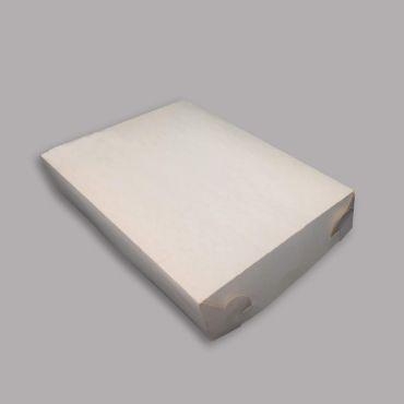 Koogikarp nr 5, 260x195x60mm, valge, kartong, pakis 100kmpl
