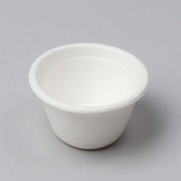 Suhkruroost kastmetops 110ml ø75mm, valge, pakis 50tk