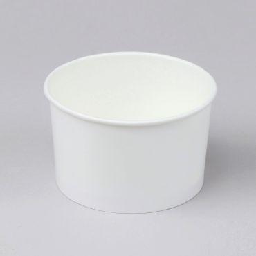 Jäätisetops 245ml, valge kartong, pakis 25tk