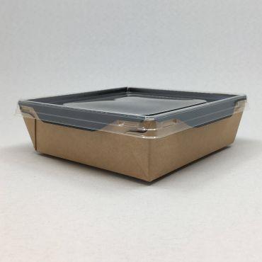 Kandiline kartongkarp PET kaanega 900ml, 150x150x50mm, pakis 50kmpl
