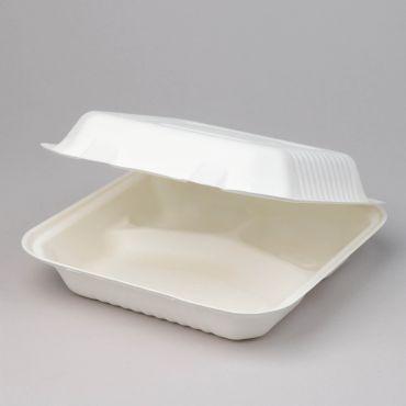 Suhkruroost 3-osaline einekarp BIOBOX 230x230x70mm, valge, pakis 50tk
